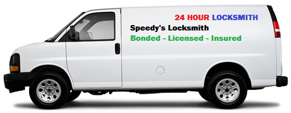 Speedy's Locksmith van